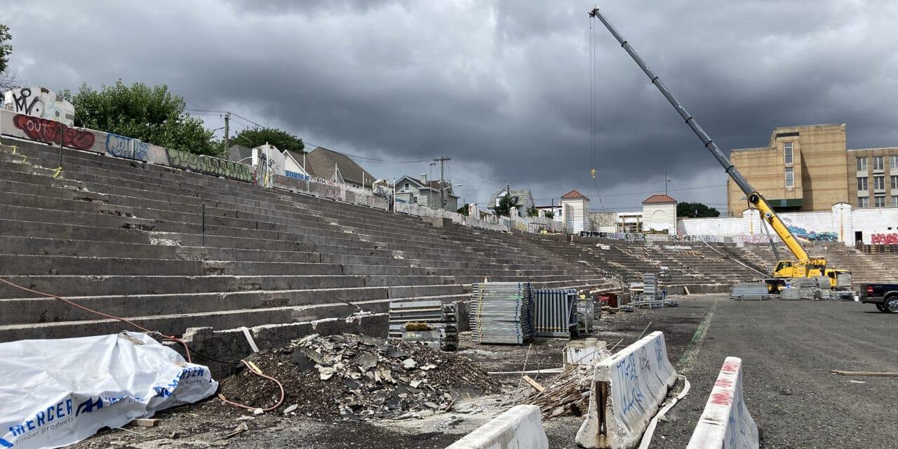 Firms Work to Restore Historic New Jersey Stadium